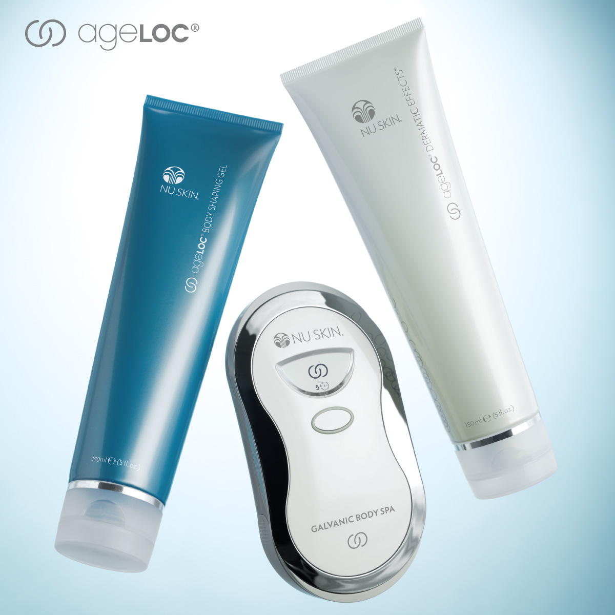 Ageloc Galvanic Body Spa, Body Shaping Gel, Dermatic Effect