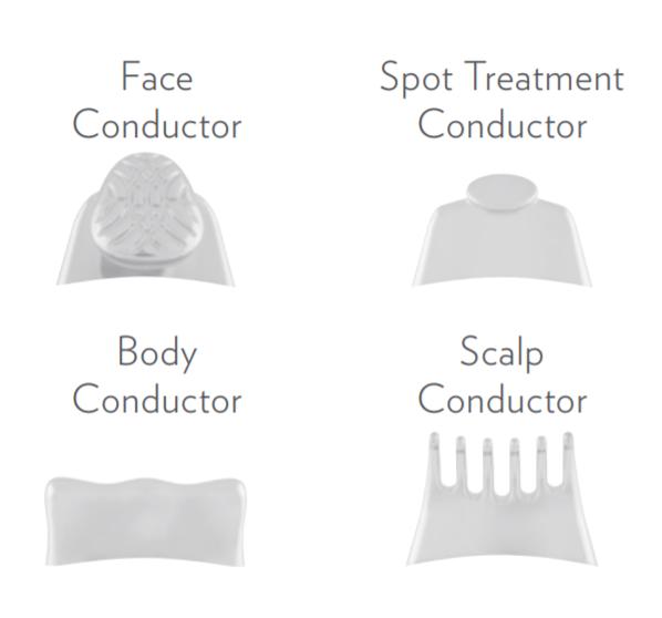 konduktor kepala alat galvanic spa